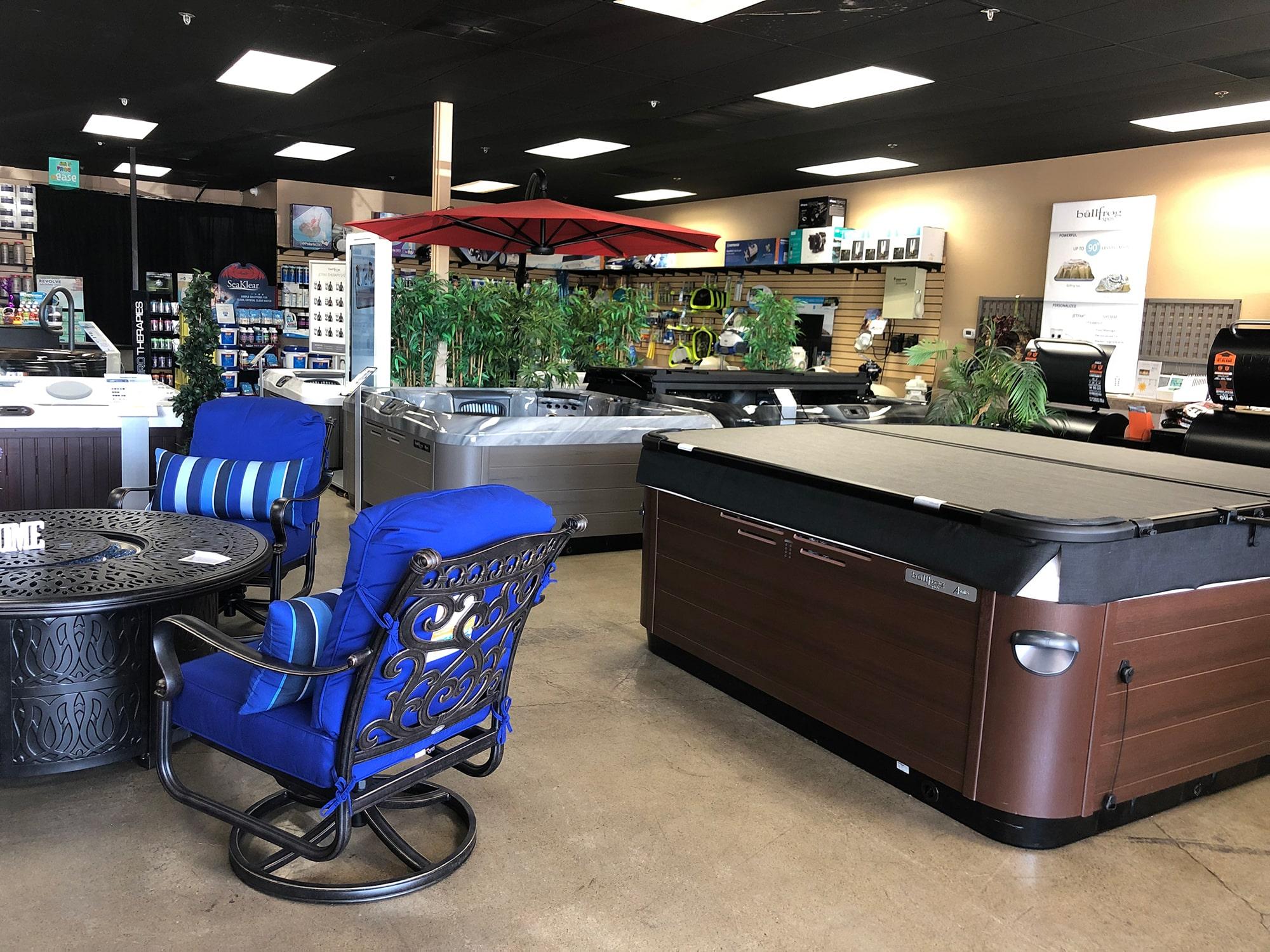 Backyard Spa Leisure Showroom in Fresno, CA