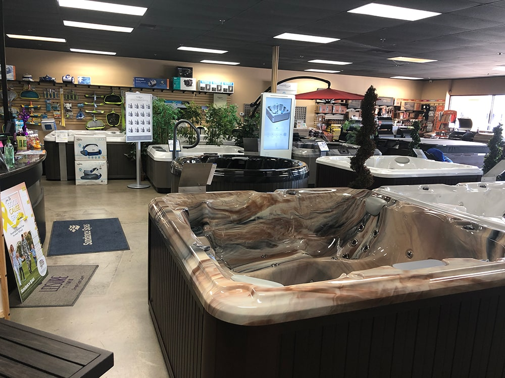 Backyard Spa and Leisure Hot Tub Showroom in Fresno, CA