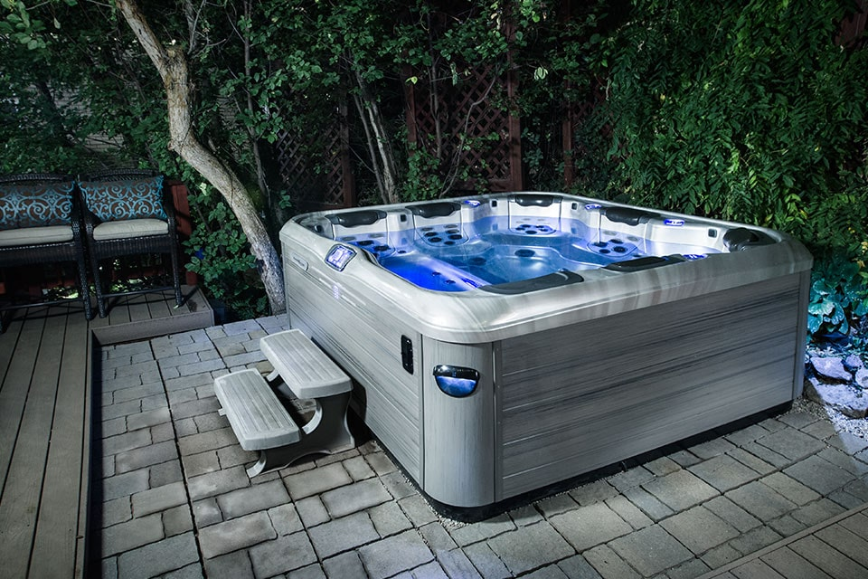 bullfrog spas installation in Fresno